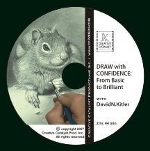 Art Instructional DVD - Draw with Confidence