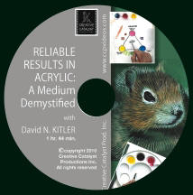 Art Instructional DVD - Reliable Results in Acrylics